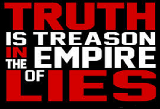 Truth is treason 560 ~