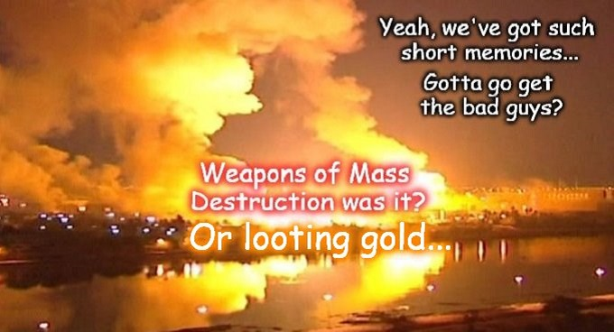 IRAQ WMD Looting Gold bad guys