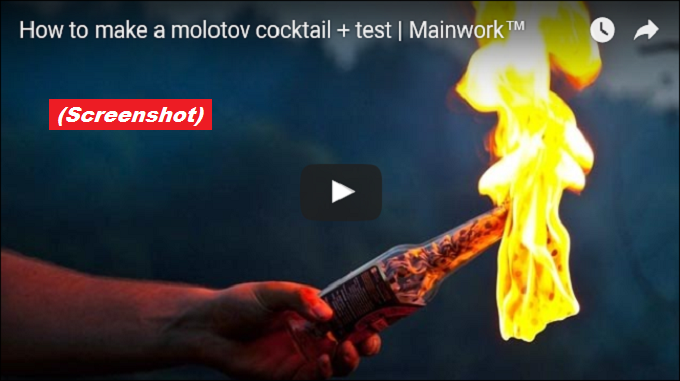 Molotov Cocktail SCREENSHOT