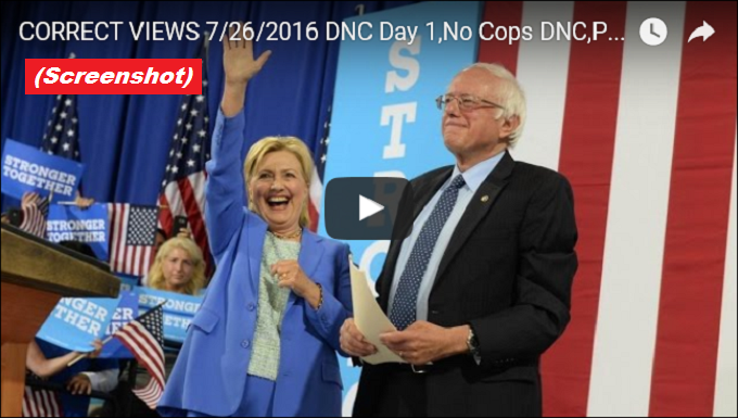 The Correct veiw 7-26-2016 younger Sanders and Clinton