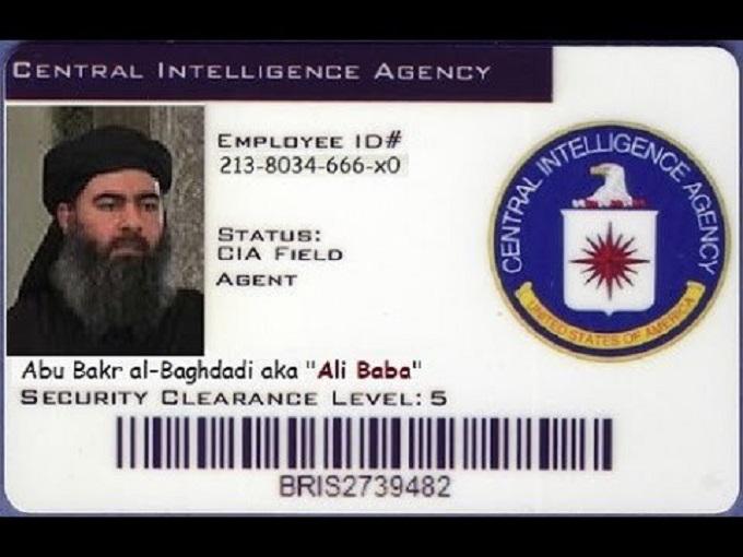 Al Bagdadi CIA ID