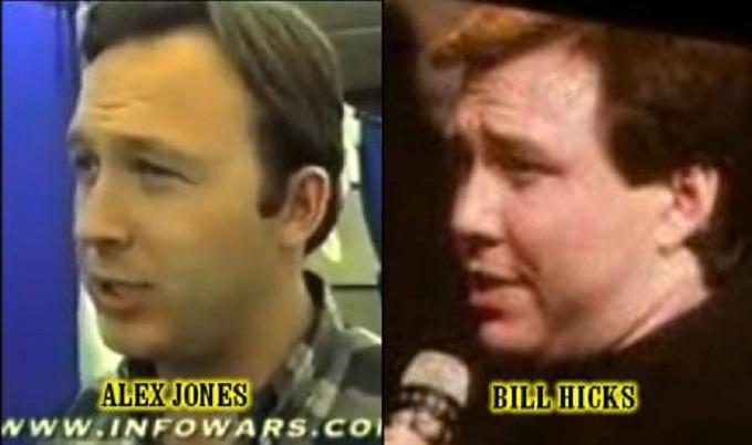 Alex Jones Bill Hicks likeness