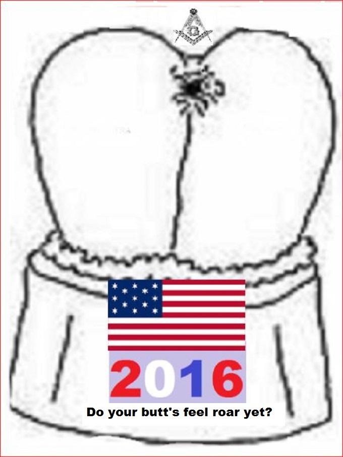 American ass Mason 2016 BUTTS FEEL ROAR