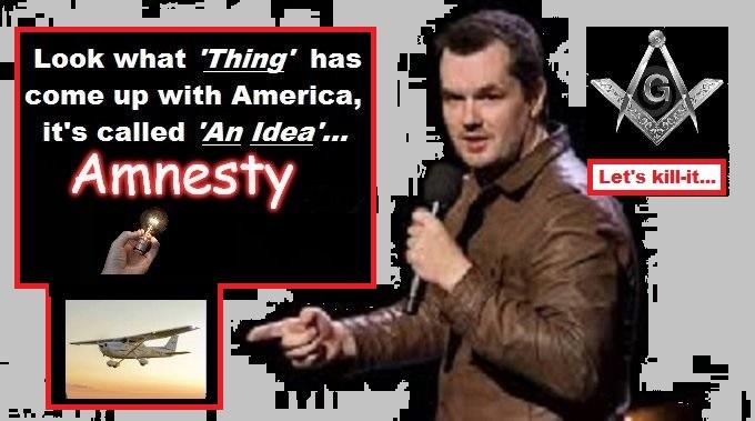 Amnesty THING Jim Jeffries Mason LETS KILL IT GREY