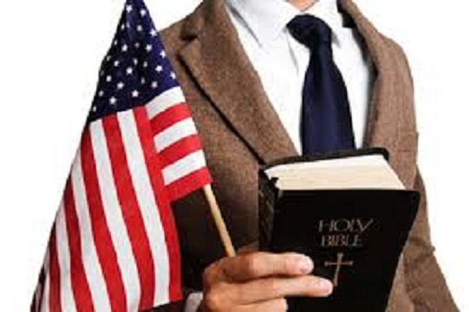 Bible and book, god and country ~