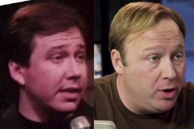 Bill Hicks Alex Jones persona