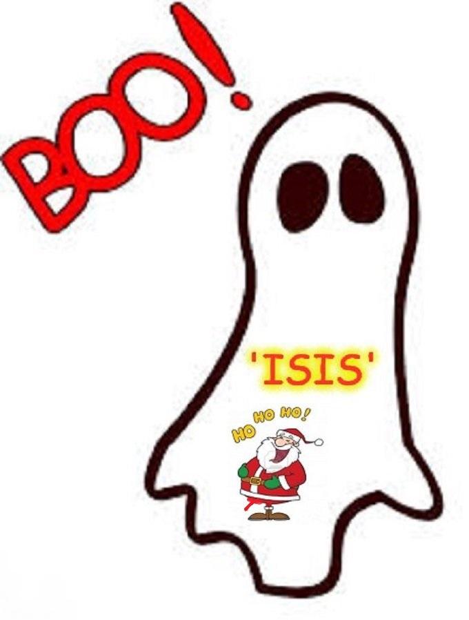 Boo Santa Ghost boner