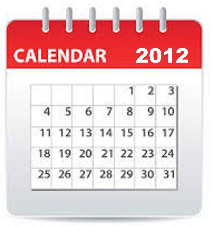 Calendar 2012 LARGER