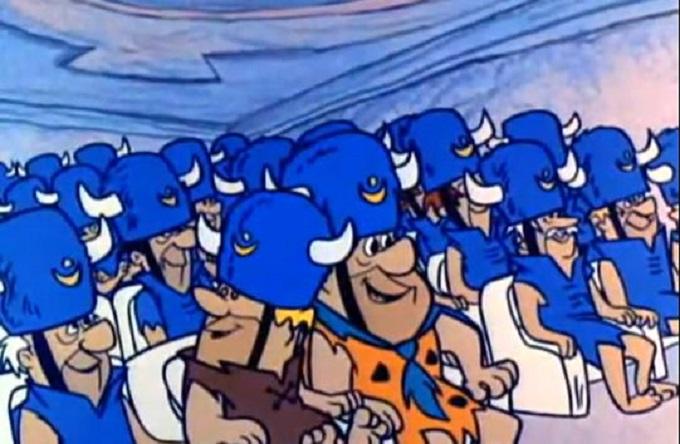 Flintsones Water Buffalos