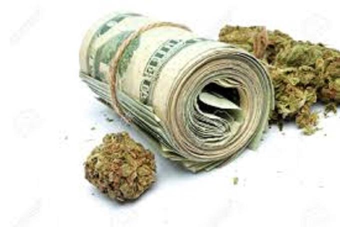 Grass and money