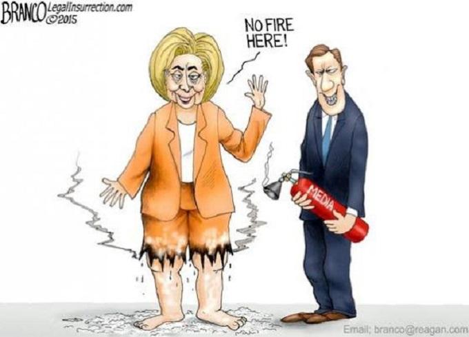Hillary fire