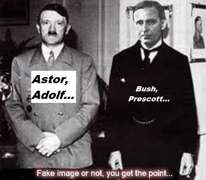 Hitler Astor and Prescott Bush