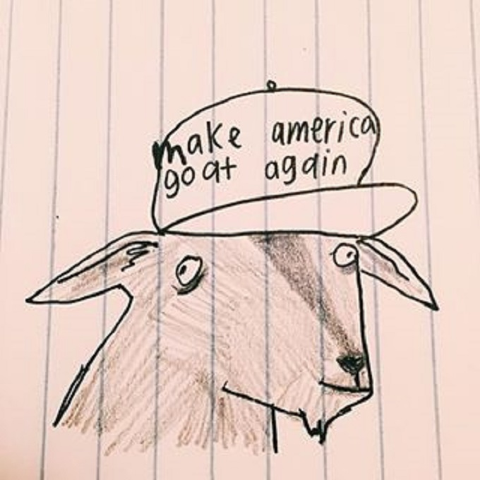 Make America goat again