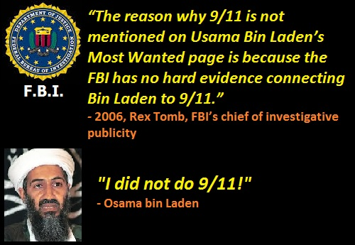 Osama Bin Laden I-did not do 911