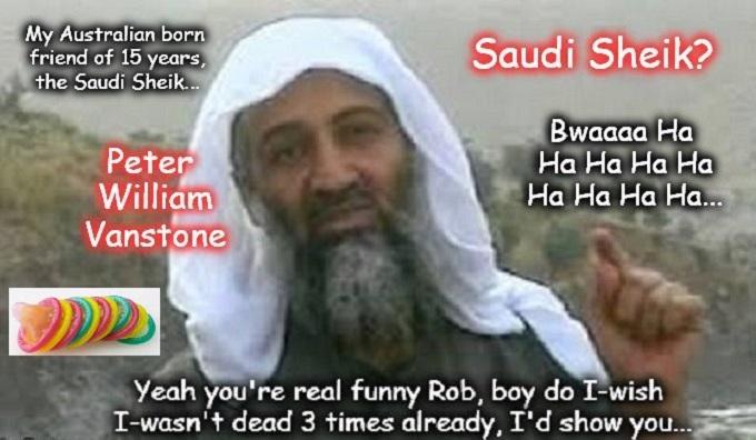 Osama Vanstone Saudi Sheik Condom
