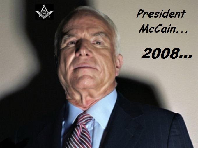 President McCain Mason 2008