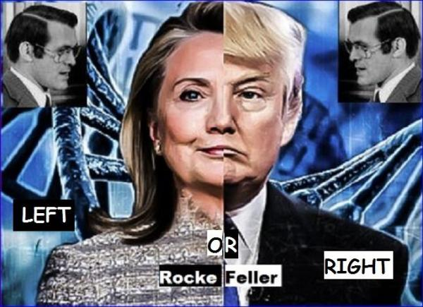 Rummy Hillary and Trump left or right