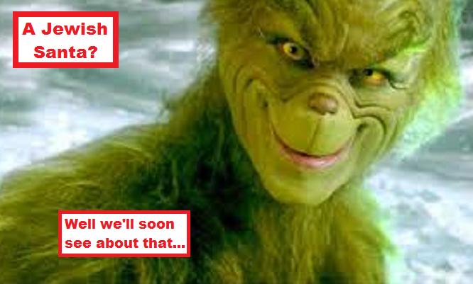 The Grinch Jewish Santa