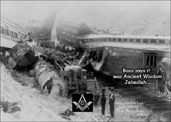 Train Wreck Ancient Wisdom
