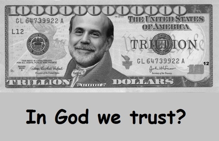 Trillion Dollar Bill ~ In God we trust