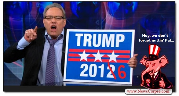 Trump 2012 don't forget nuttin