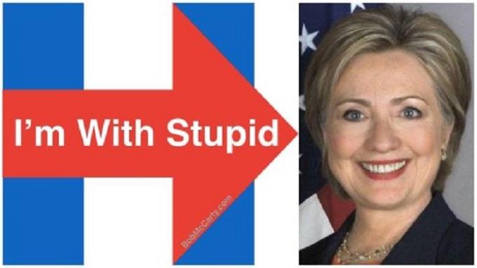 hillary-im-with-stupid