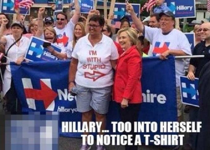 hillary-too-stupid-t-shirt