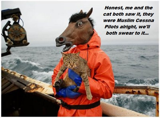 Horse cat absurd Muslim Cessna Pilots