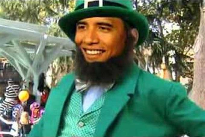 Obama Leprechaun