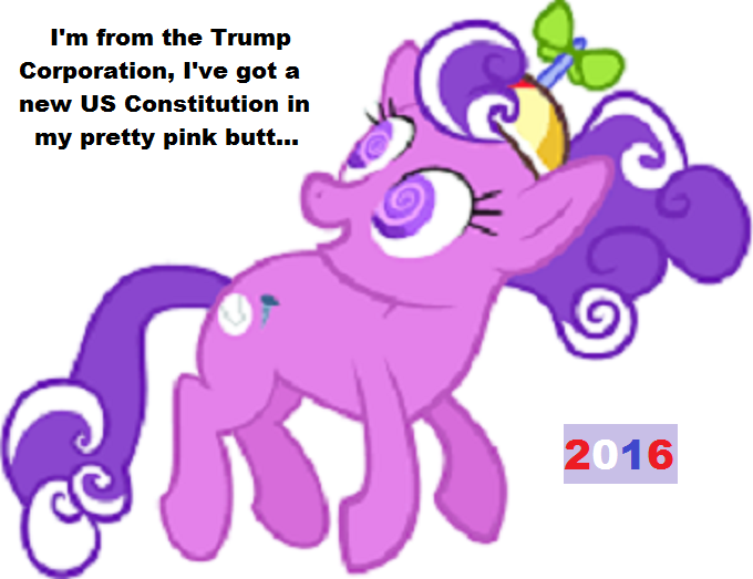 pink-horse-new-constitution-trump-pretty-pink-butt