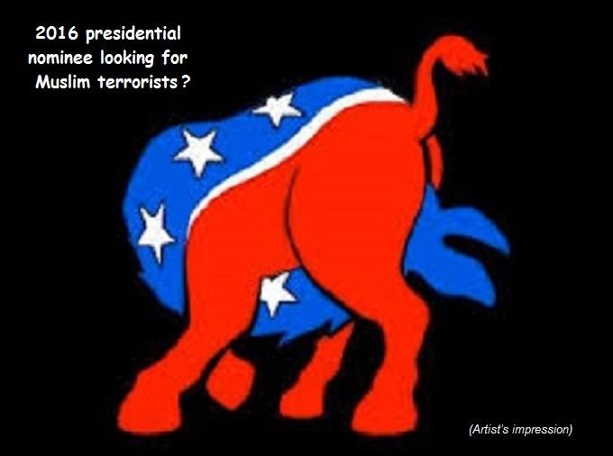 President Donkey Muslim terrorists