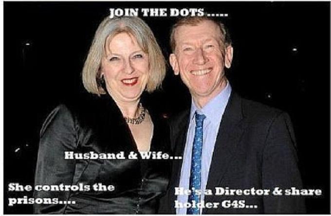Theresa May husband prisons G4
