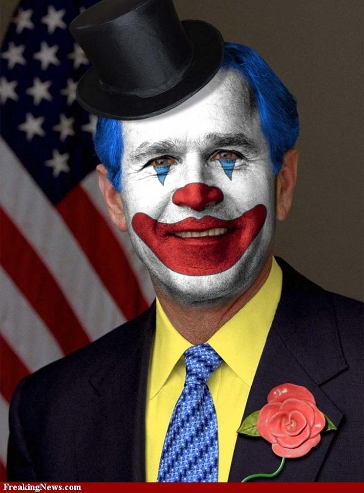 gw-bush-clown