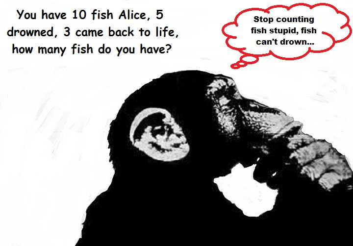 ape-intelligence-monkey-fish-cant-drown