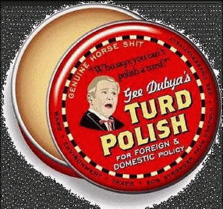 gee-dubya-bush-turd-polish-shady-grey-black
