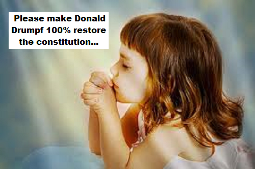 little-child-at-prayer-donald-drumpf-constitution