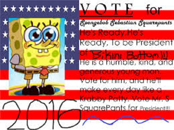 president-spongebob-squarepants