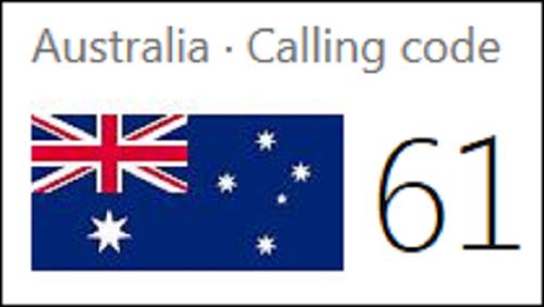 australia-area-code-61