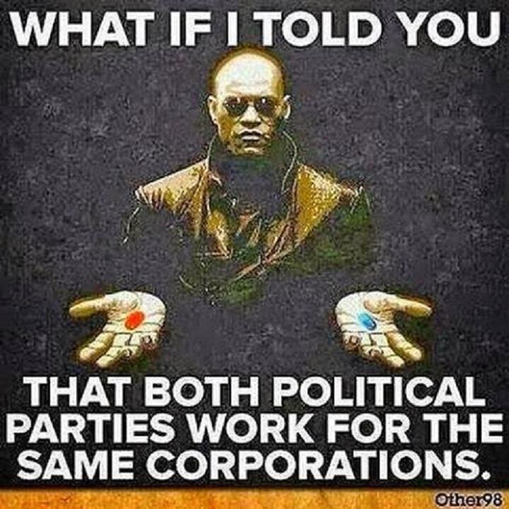 both-political-parties-same-corporation-the-matrix