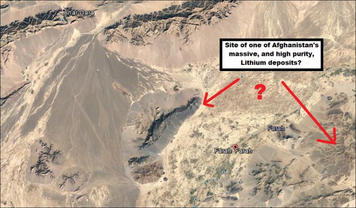 farah-farah-afghanistan-lithium-deposit-sites