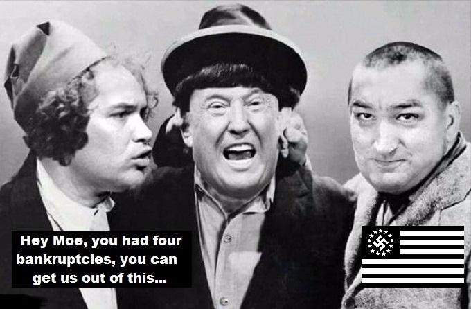 hey-moe-trump-nazi-flag-four-babkruptcies