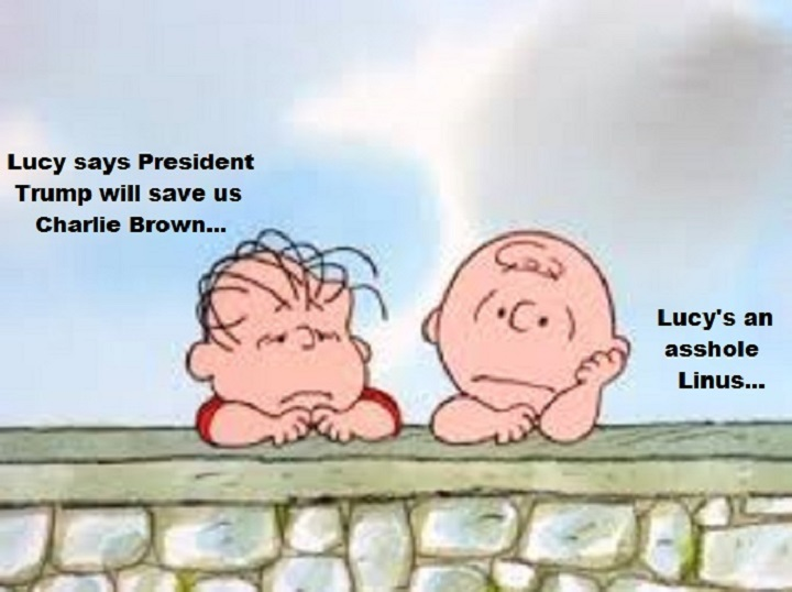linus-charlie-brown-lucy-trump-asshole
