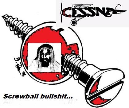 osama-screwball-bullshit-cessna-420