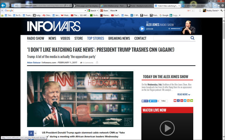trump-watching-fake-news-infowars