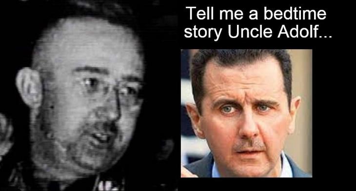 0009100 Greenspan bubble ~ Himmler Assad Graphic GUESS WHO Vid