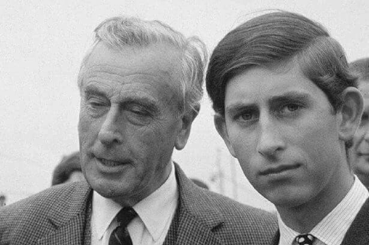 0005000 More fake Trumpf ~ Mountbatten and son Charles Battenberg Graphic