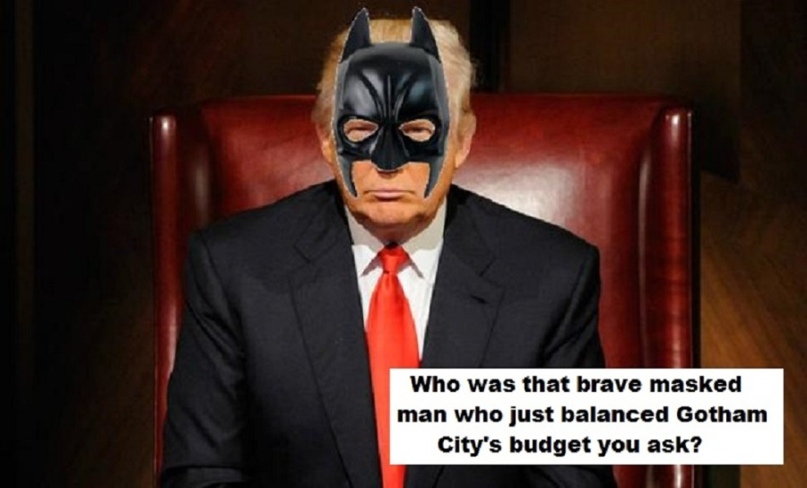 Go Orwellian again Batman?