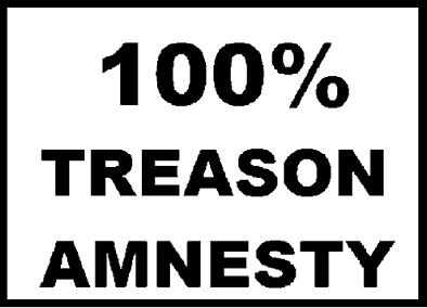 100 percent treason amnesty 500