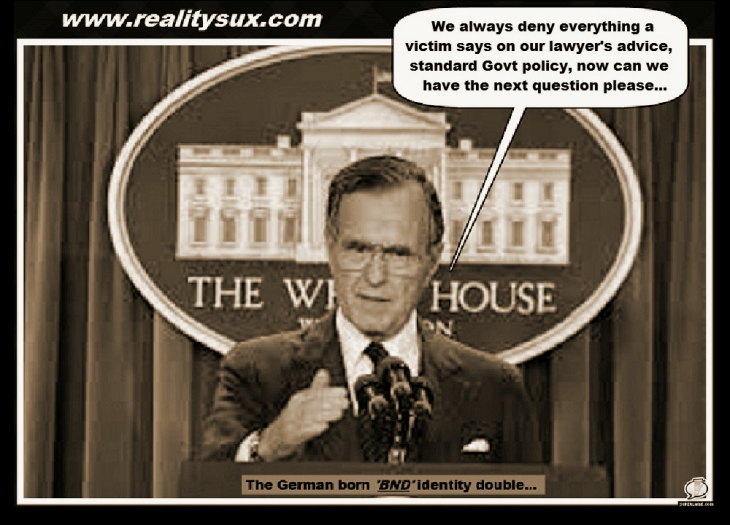 Bush 41 deny everything BND