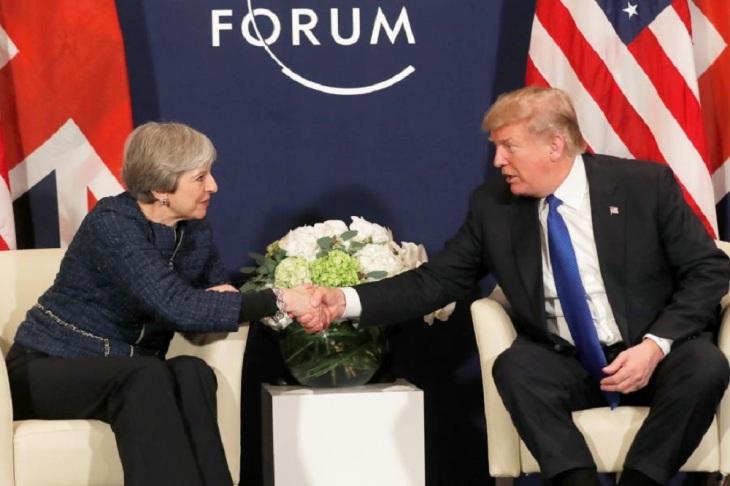 Davos Trumpf May